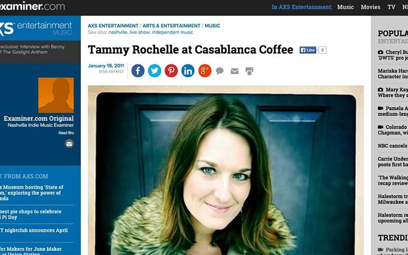 Tammy Rochelle at Casablanca – Examiner.com