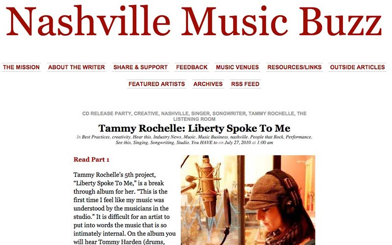 Liberty Spoke To Me – Nashville Music Buzz