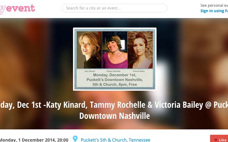 Girls In The Round at Puckett's – Downtown Nashville